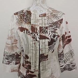 Coldwater Creek Embellished Jacket, 8 petite